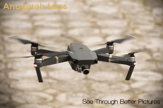 Tips Fotografi Drone Anugerah Lens