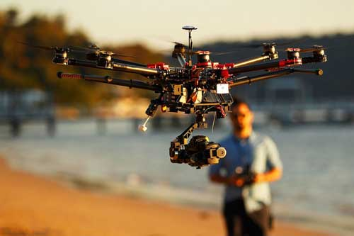 Jasa Foto Pernikahan Pengantin Pilot Drone